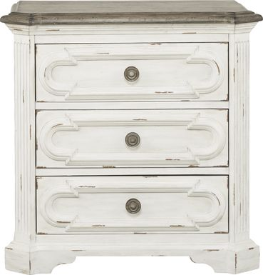 Lindenwood White Nightstand