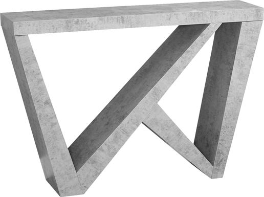 Lindhurst Gray Console Table