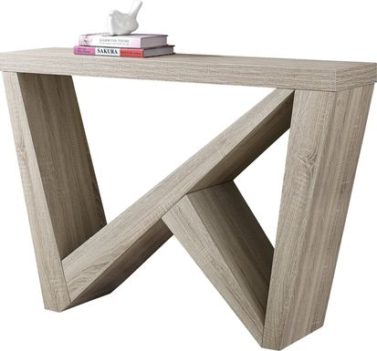 Lindhurst Taupe Sofa Table