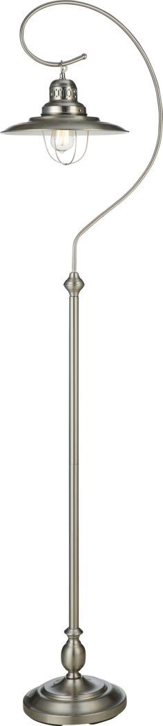 Linhope Shore Gray Floor Lamp