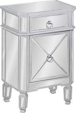 Linsky Silver Nightstand