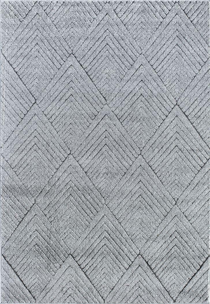 CosmoLiving By Cosmopolitan Lisette Gray 8' x 10' Rug