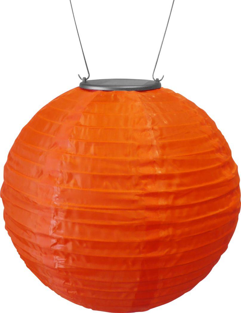 Lita Orange Outdoor Solar Lantern