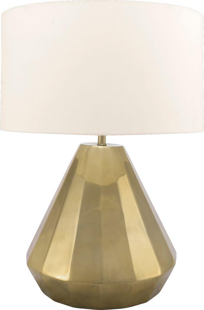 Litson Gold Lamp