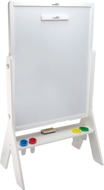 Little Partners White Contempo Two-Sided Art Easel