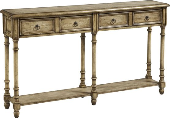 Littonwood Brown Sofa Table