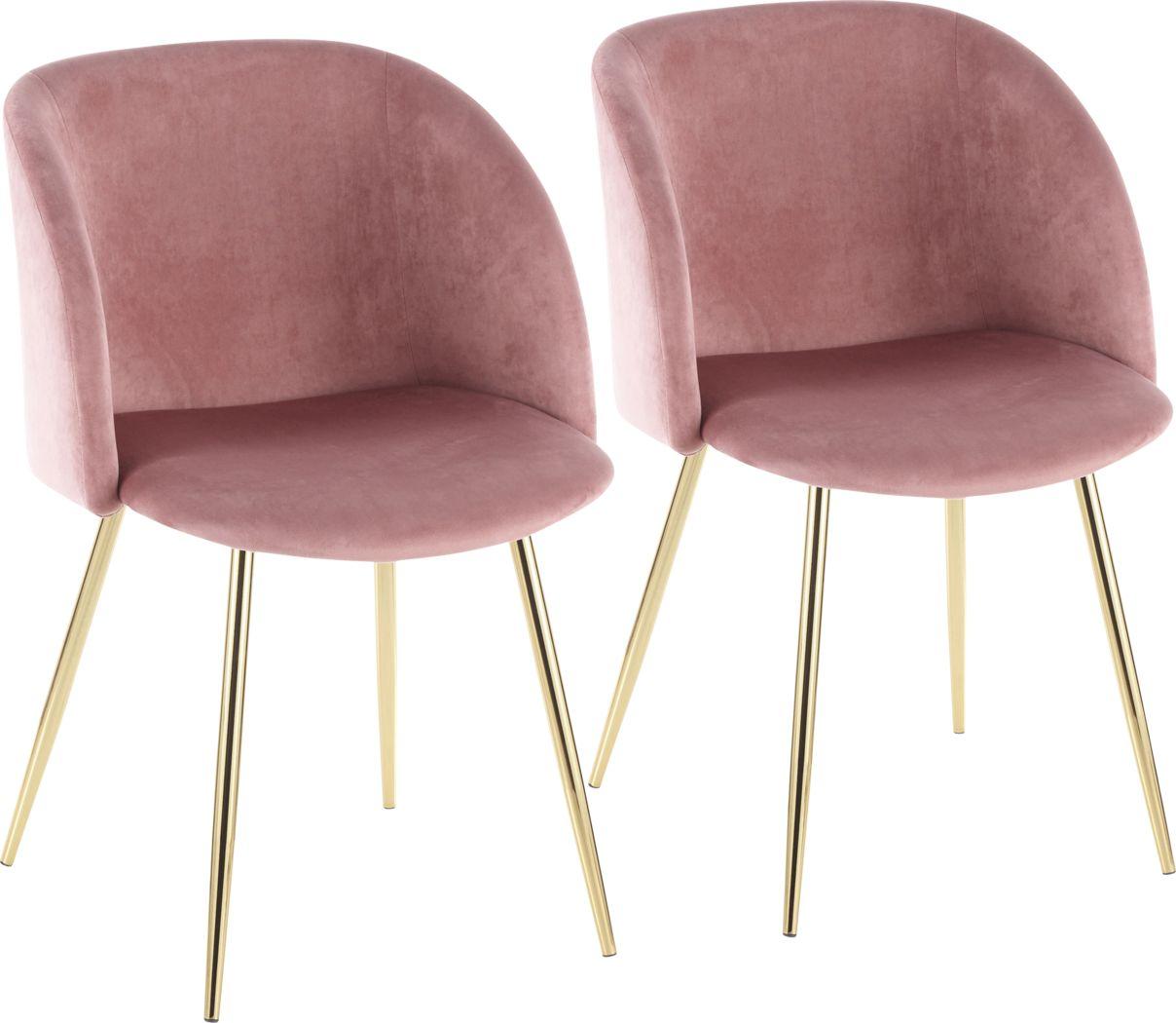 Lobolly Pink Side Chair, Set of 2