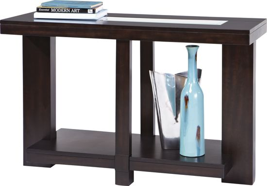 Lochlin Walnut Sofa Table