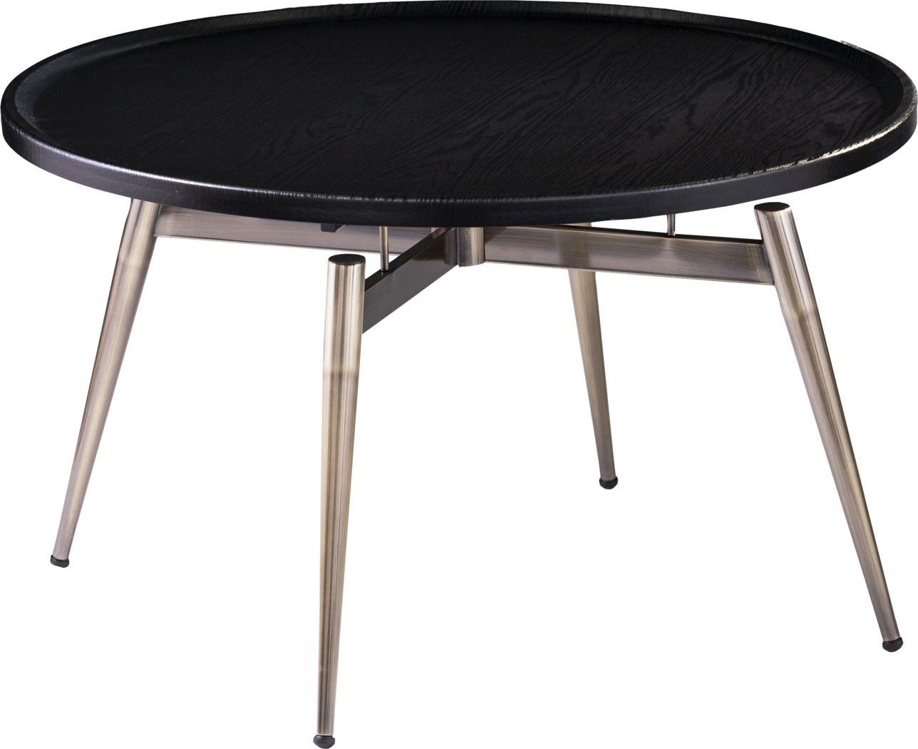 Lockmere Black Cocktail Table