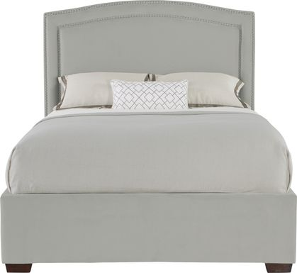Loden Gray 3 Pc Queen Upholstered Bed