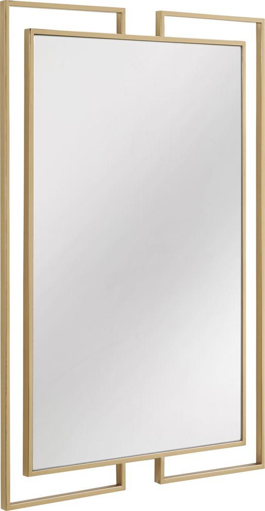 Lodovick Yellow Mirror