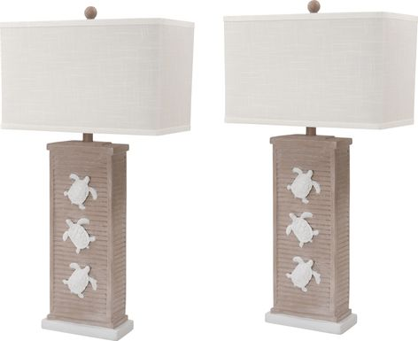 Lodwick Beige Lamp, Set of 2