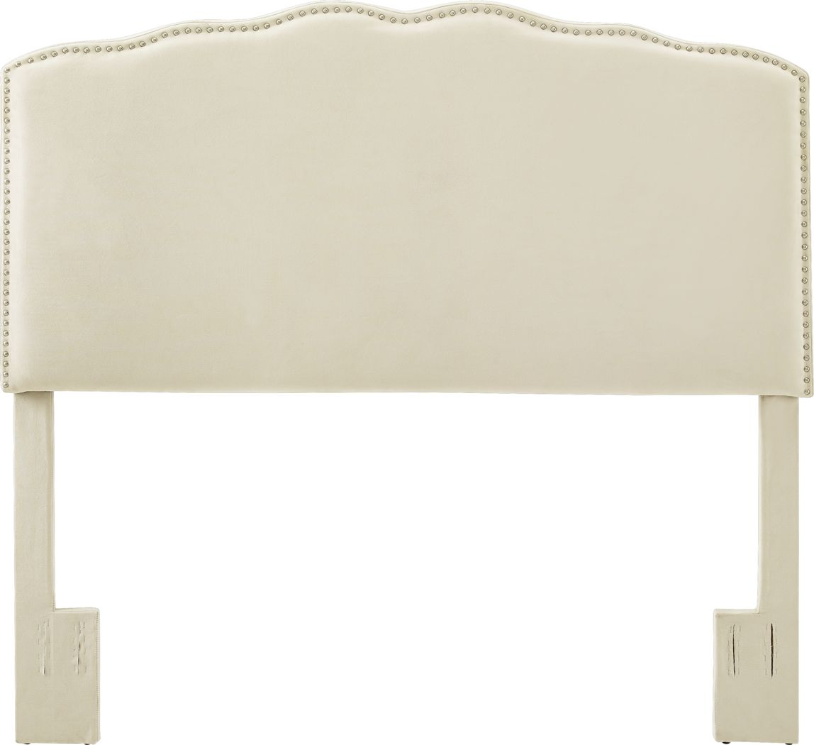 Londonshire Natural King Upholstered Headboard