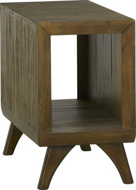 Long Valley Brown Chairside Table