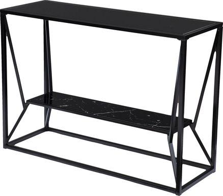 Longspur Black Sofa Table