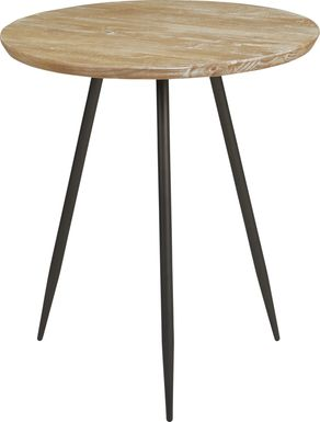 Lonia Natural 32 in. Round Counter Height Dining Table