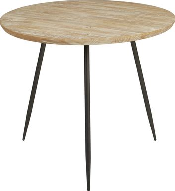 Lonia Natural 42 in. Round Counter Height Dining Table