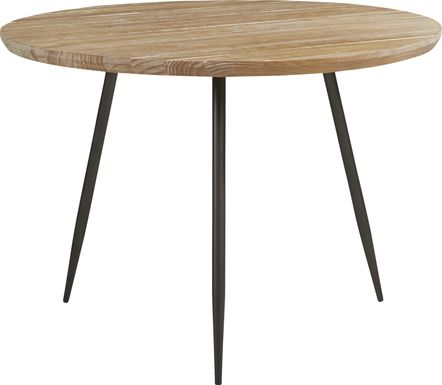 Lonia Natural 42 in. Round Dining Table