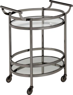 Loreen Black Bar Cart