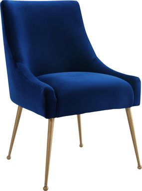 Loretta Navy Dining Chair