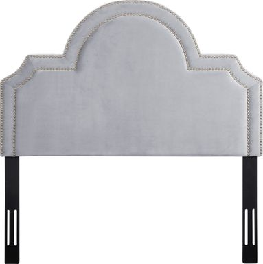 Louella Gray Full Upholstered Headboard