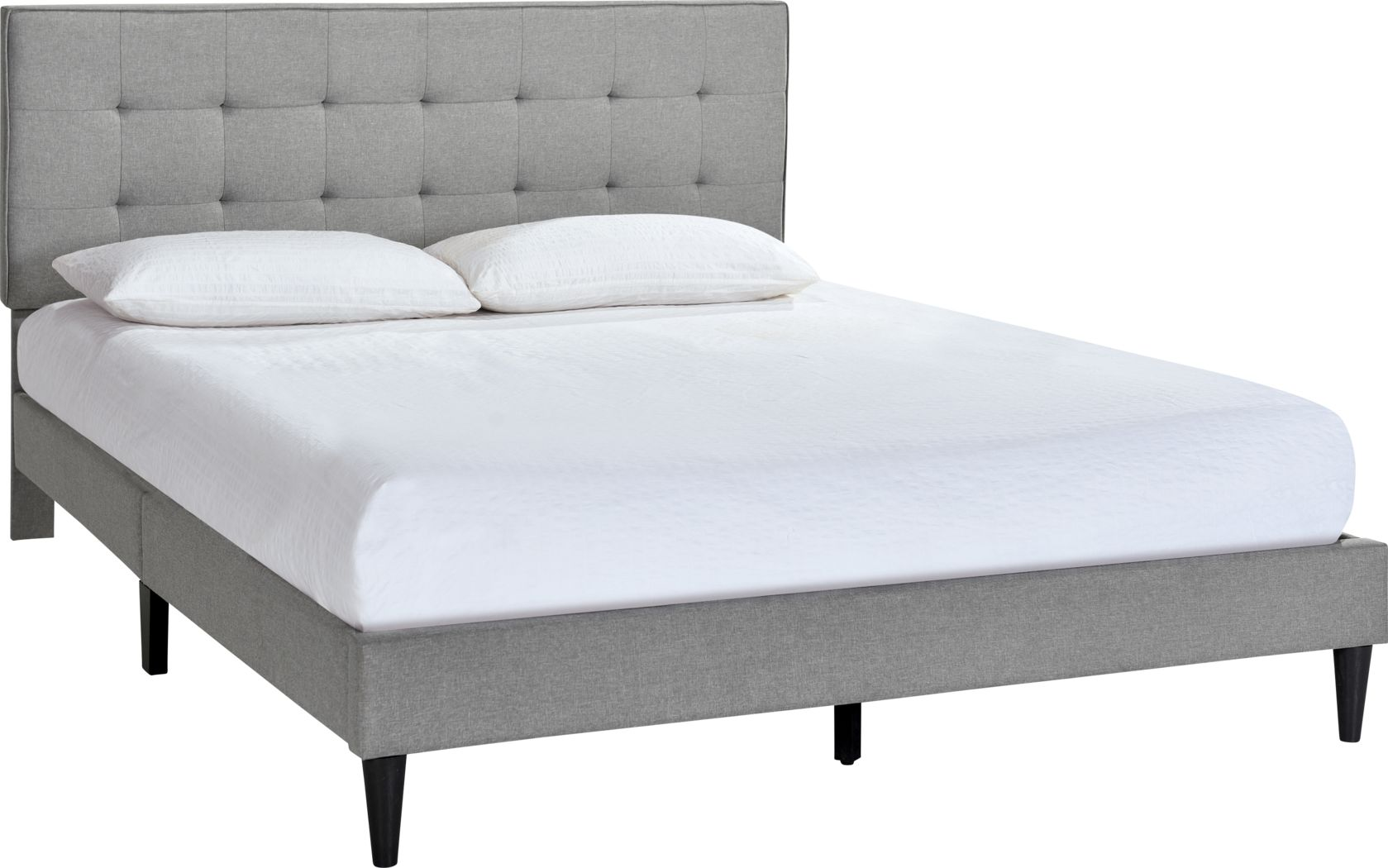 Lousetown Gray King Bed
