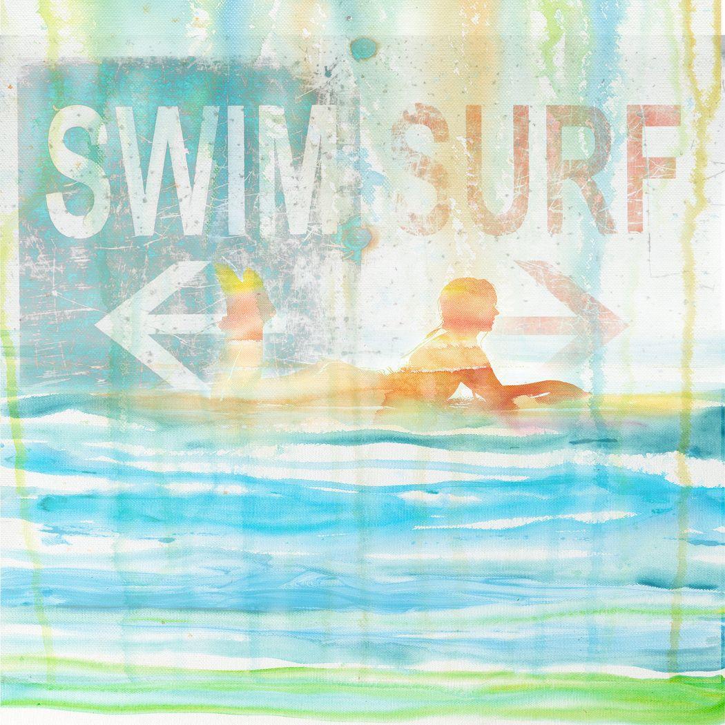 Love For Surf Blue Artwork
