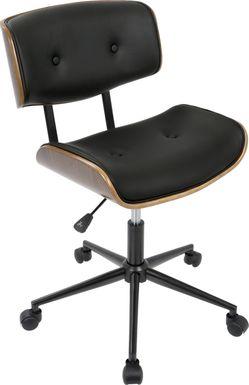 Loxley Black Adjustable Desk Chair