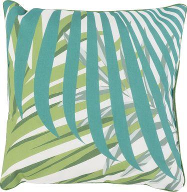 Luanna Green Indoor/Outdoor Accent Pillow