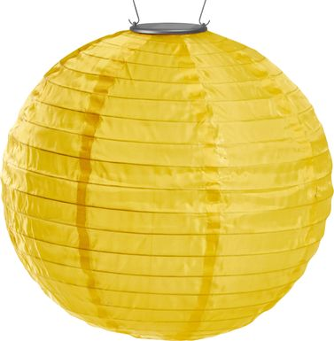 Lucene Gold Outdoor Solar Lantern