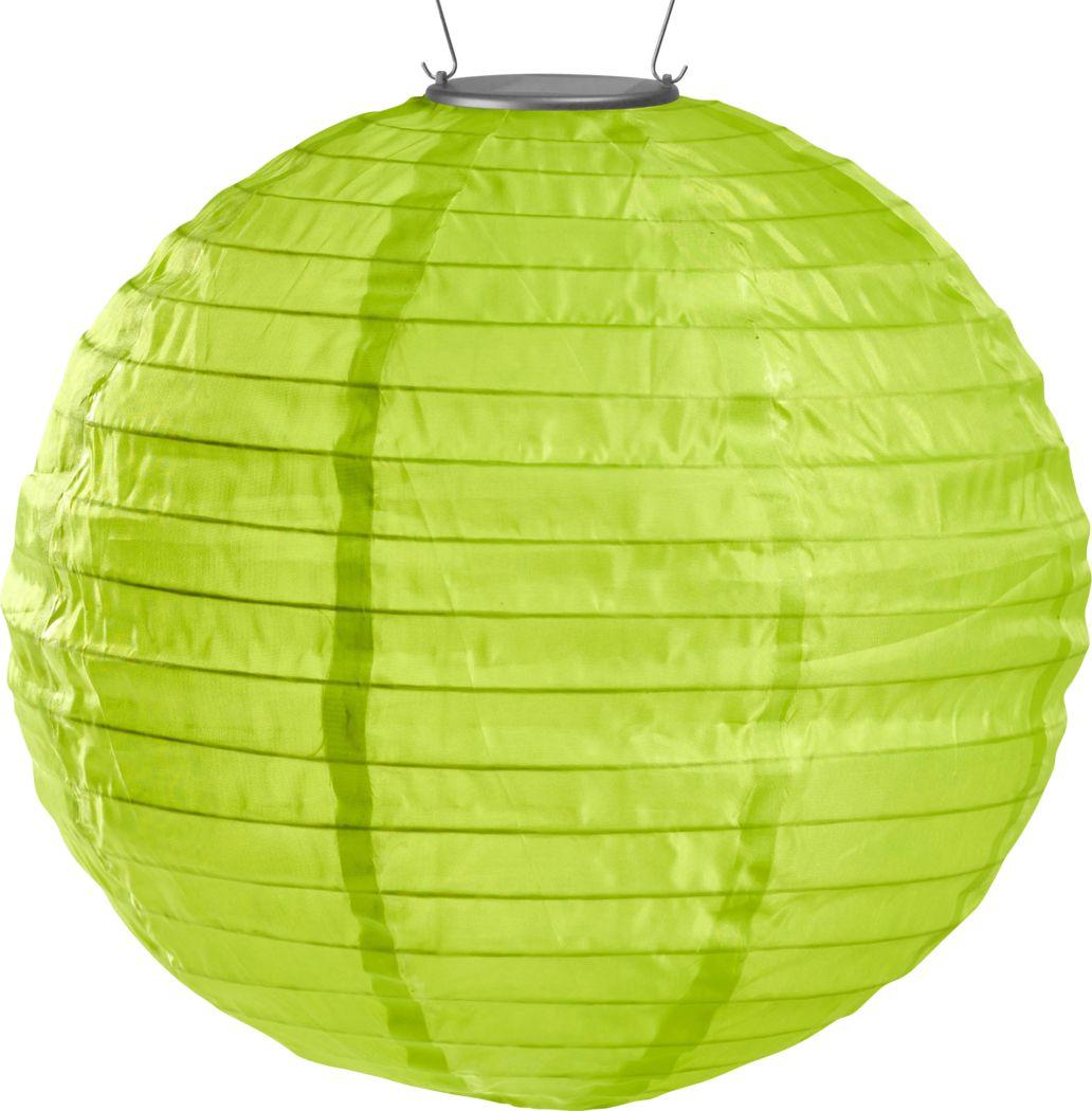 Lucene Lime Outdoor Solar Lantern