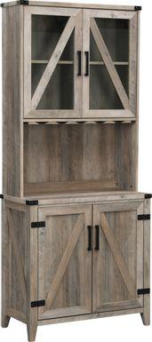 Ludlam Gray Bar Cabinet
