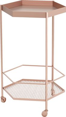 Luela Gold Bar Cart