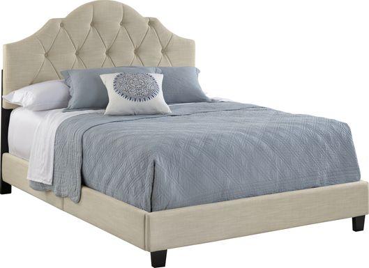 Luella Linen Queen Upholstered Bed