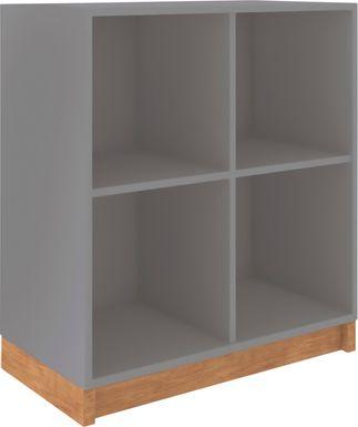 Lullingstone Gray Bookcase