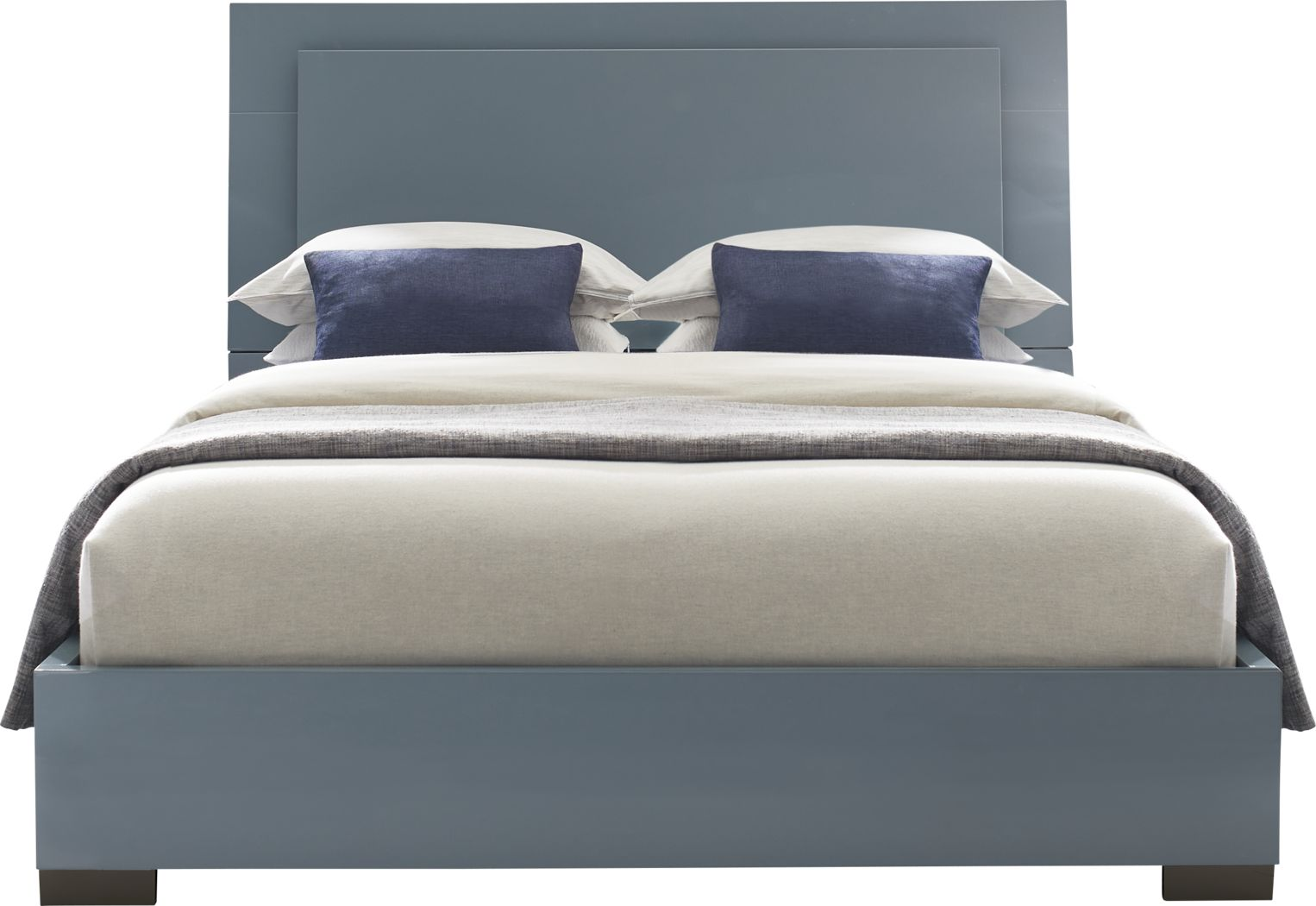 Luma Vista Blue 3 Pc King Bed