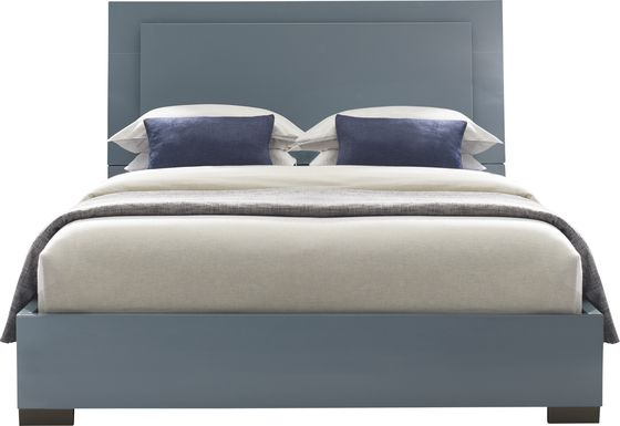 Luma Vista Blue 3 Pc Queen Bed