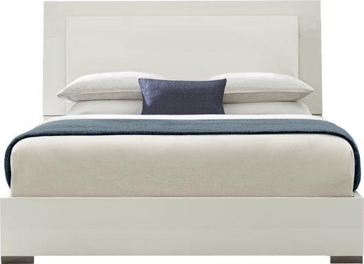 Luma Vista White 3 Pc Queen Bed