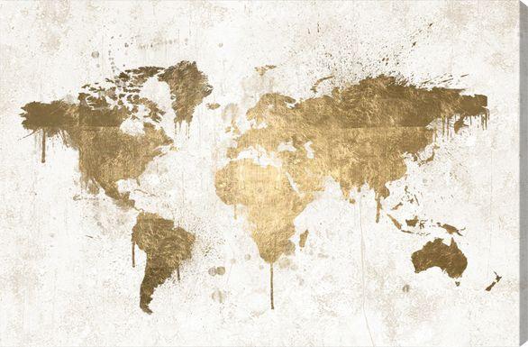luminous world gold artwork