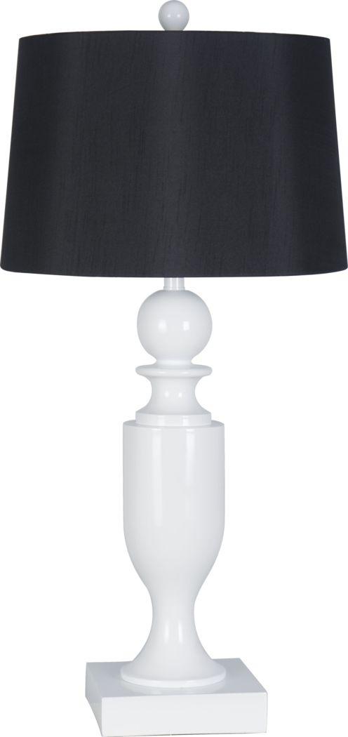 Luna Heights White Lamp