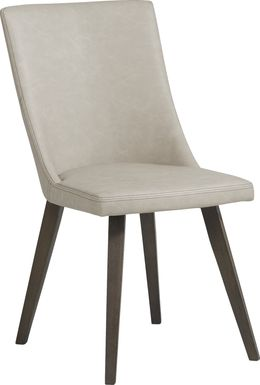 Lunetta Taupe Side Chair
