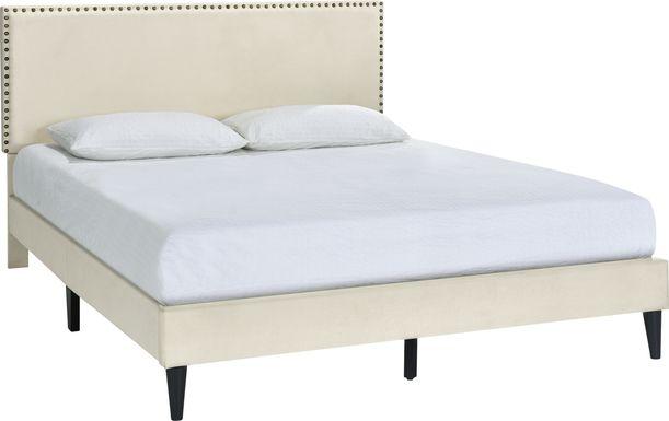 Lunsford Beige King Bed