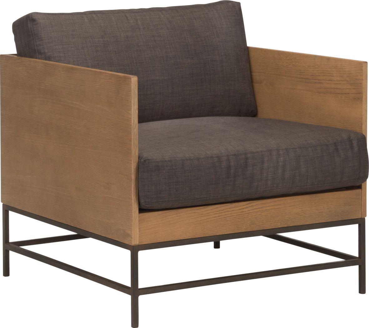 Lureta Brown Accent Chair