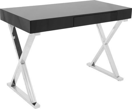 Luster Black Desk