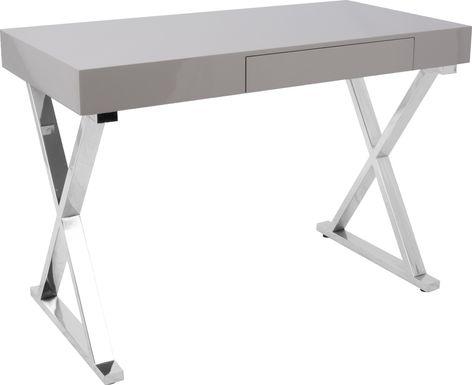 Luster Gray Desk