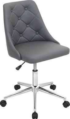 Luster Gray Office Chair