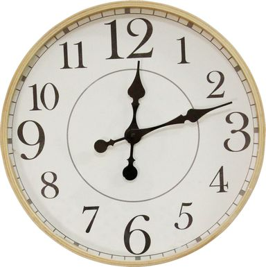 Luvenia Natural Clock