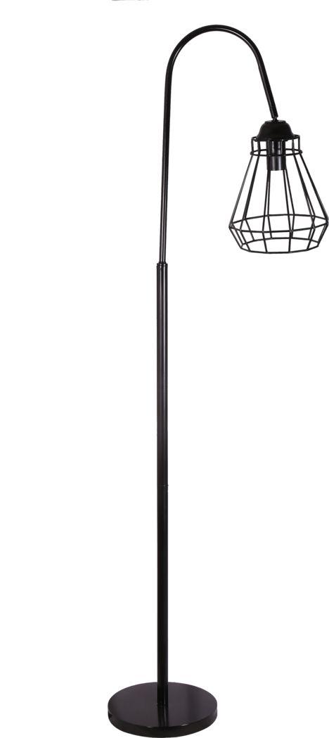 Luvora Black Floor Lamp