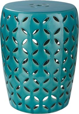 Lwandle Teal Outdoor Stool