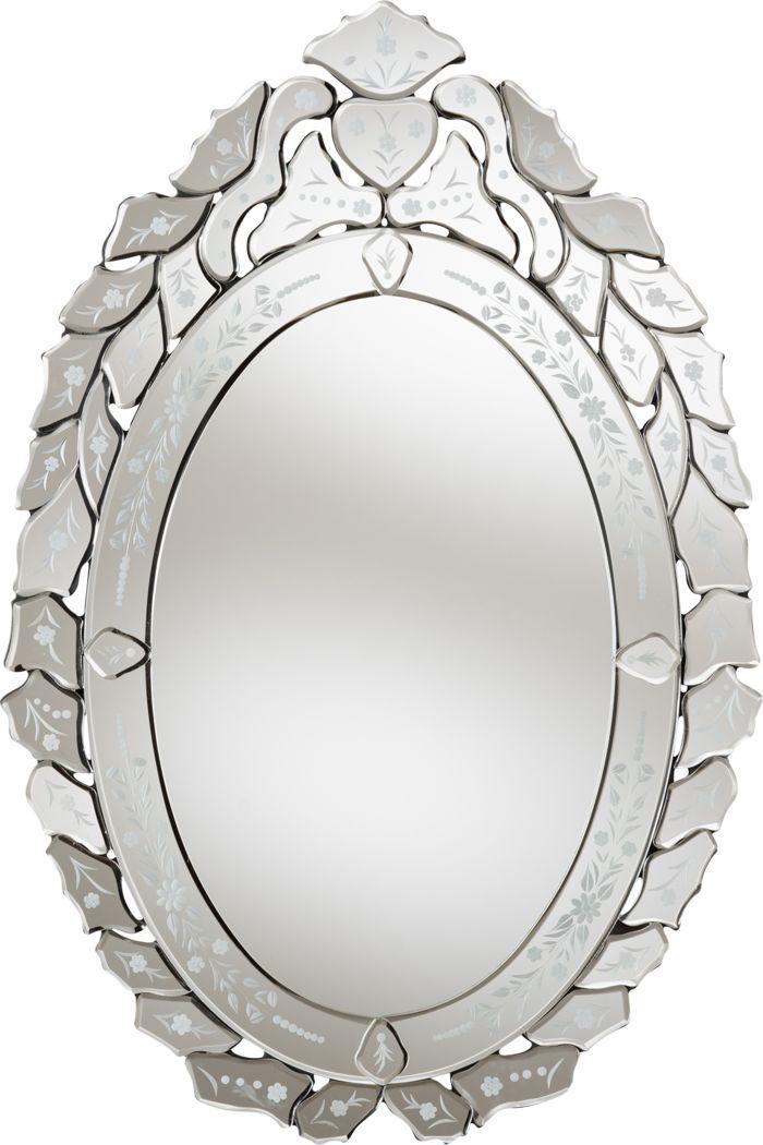 Lybyer Silver Mirror